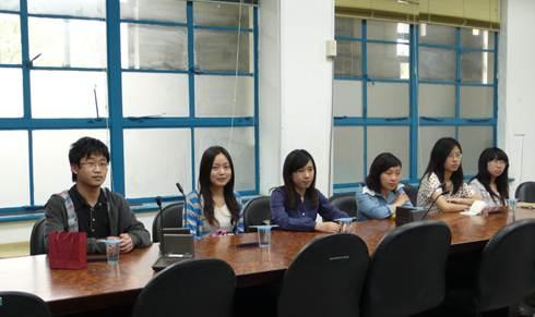 同济大学土木工程学院学生12人来系进行