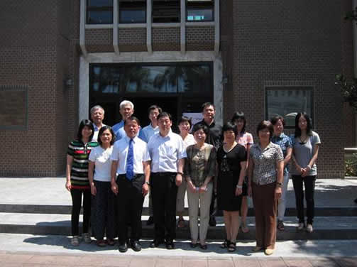 同济大学土木工程学院教职员来访