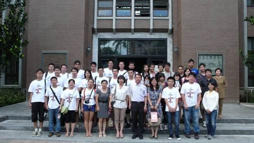 同济大学土木工程学院师生来访
